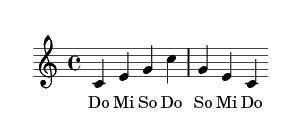 Do Mi So Do So Mi Do